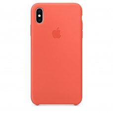 Apple Silicone case iPhone XS Max Nectarine купить Киев Украина - appleiPhone XS Max silicone case