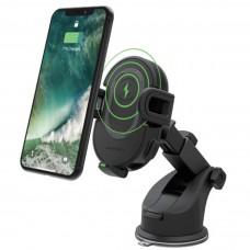 Автомобильный держатель с беспроводной зарядкой RavPower 10W Wireless Charging Car Phone Mount (RP-SH010)