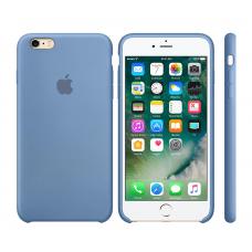 Силиконовый чехол Apple Silicone Case Navy Blue для iPhone 6 (копия)