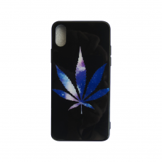 Чехол Glass Case для iPhone 6/7/8/7 Plus/8 Plus/X/Xs с рисунком