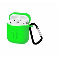 Силиконовый Soft touch чехол для AirPods Green (Зеленый)