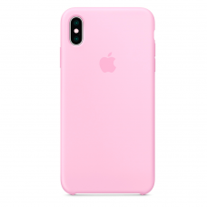 Apple Silicone case iPhone XS Max Pink купить Киев Украина - apple iPhone XS Max silicone case
