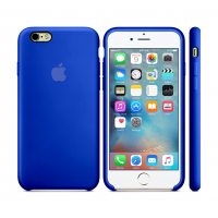 Силиконовый чехол Apple Silicone Case Ultra Blue для iPhone 6 Plus / 6s Plus