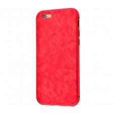 Чехол для iPhone 7 /8 Magnette full 360 Jelly Белый Красный