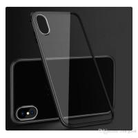 Чехол Shockproof Magnetic Metal Gorilla Tempered Glass Case Cover для iPhone X Черный