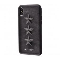 "Чехол для iPhone X / Xs Givenchy stars ""три звезды"""