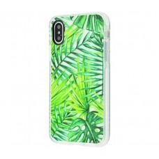 Чехол для iPhone X Tech 21 Пальмовый лист