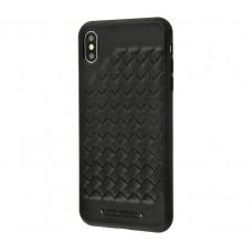Чехол для iPhone Xr Polo Ravel (Leather) черный