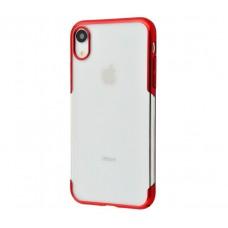 Чехол для iPhone Xr Baseus Glitter красный