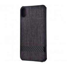 Чехол книжка для iPhone Xr G-Case Funky series черный