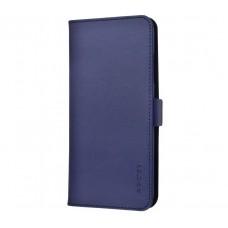 Чехол книжка для iPhone Xr G-Case Honour series синий