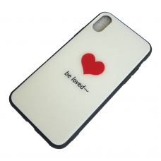 Чехол Glass Case для iPhone 6/7/8/7 Plus/8 Plus/X/Xs Be loved
