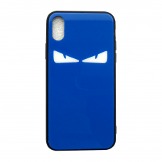 Чехол Glass Case для iPhone 6/7/8/7 Plus/8 Plus/X/Xs Blue Monster