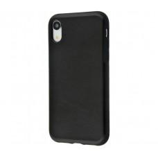 Чехол для iPhone Xr Strong leather черный
