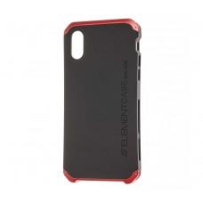 Чехол для iPhone Xs Element Solid чернно красный