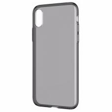 Черно - Прозрачный силиконовый чехол для iPhone Xs Max