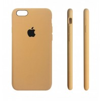 Силиконовый чехол Apple Silicone case Mustard Beige для iPhone 6 Plus /6s Plus (копия)