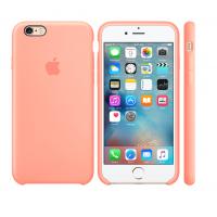 Силиконовый чехол Apple Silicone case Peach для iPhone 6 Plus /6s Plus (копия)