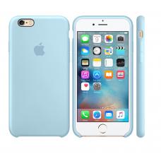 Силиконовый чехол Apple Silicone case Sky blue для iPhone 6 Plus /6s Plus (копия)