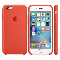 Силиконовый чехол Apple Silicone case Spicy orange для iPhone 6 Plus /6s Plus (копия)
