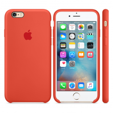 Силиконовый чехол Apple Silicone case Spicy orange для iPhone 6 Plus /6s Plus (копия)