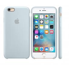 Силиконовый чехол Apple Silicone case Mist Blue для iPhone 6 Plus /6s Plus (копия)