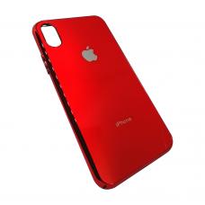 Пластиковый чехол Fashion Case Red ( Красный ) для iPhone X / Xs