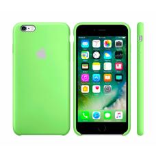 Силиконовый чехол Apple Silicone case Uran Green для iPhone 6 Plus /6s Plus (копия)