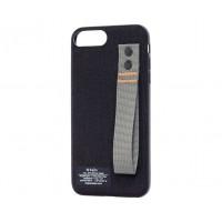 Чехол для iPhone 7 Plus / 8 Plus Kajsa Straps черный
