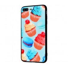 """Чехол для iPhone 7 Plus / 8 Plus My style """"тортики"""""""