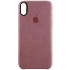 Стильный чехол Alcantara Cover Pink для iPhone X / Xs