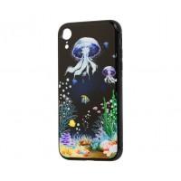 Чехол для iPhone Xr glass Море