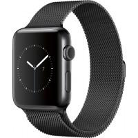 Ремешок для Apple Watch Milanese loop 38/42мм Черный