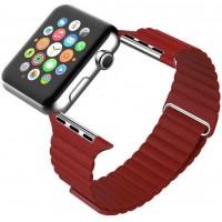 Ремешок для Apple Watch Leather loop 38/42мм Красный
