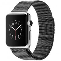 Ремешок для Apple Watch Milanese loop 38/42мм Серый