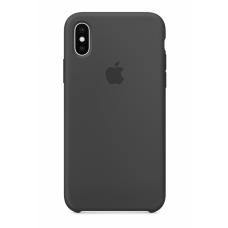 Силиконовый чехол Apple Silicone Case Charcoal Grey для iPhone XS Max
