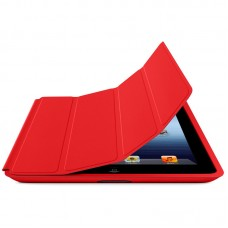 Чехол Smart cover для iPad 2/ iPad 3/ iPad 4 красный