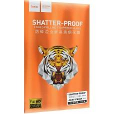 Защитное стекло Hoco Shatter-Proof Clear черное для iPhone 7/8