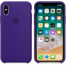 Силиконовый чехол Apple Silicone Case Ultra Violet для iPhone Xs Max