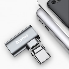 Baseus Mini Magnetic Type-C USB C Elbow Adapter Converter for MacBook Notebook