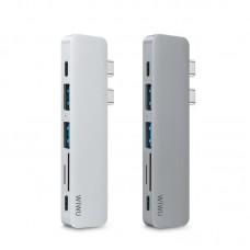 Переходник WiWU Т-8 Type-C на USB Серый