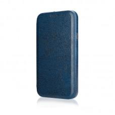 Чехол-книжка Jisoncase для iPhone X Leather Blue