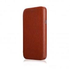 Чехол-книжка Jisoncase для iPhone X Leather Brown