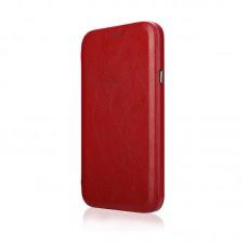 Чехол-книжка Jisoncase для iPhone X Leather Red