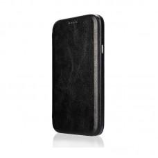 Чехол-книжка Jisoncase для iPhone X Leather Black