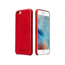Чехол Jisoncase для iPhone 6/6s Leather Red