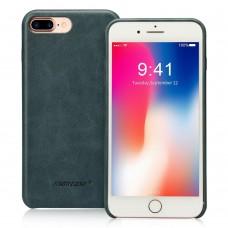 Чехол Jisoncase для iPhone 8 Plus/7 Plus Leather Blue
