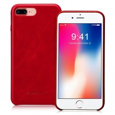 Чехол Jisoncase для iPhone 8 Plus/7 Plus Leather Red