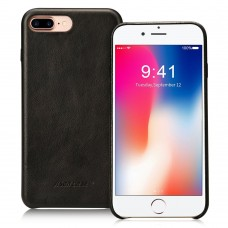 Чехол Jisoncase для iPhone 8 Plus/7 Plus Leather Black