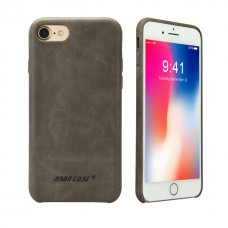 Чехол Jisoncase для iPhone 8/7 Leather Gray